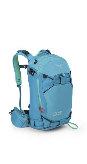 Osprey Kresta 30 - Sac à dos Femme - vert/bleu